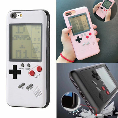 HOT Tetris Game Gameboy Shockproof Phone Case  for iPhone Xs MAX XR 7 8 Plus 6s