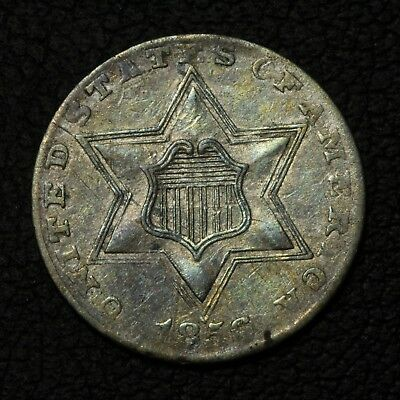 1856 Three Cent Silver Trime Piece