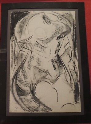 Modern art Charcoal drawing unknown artist