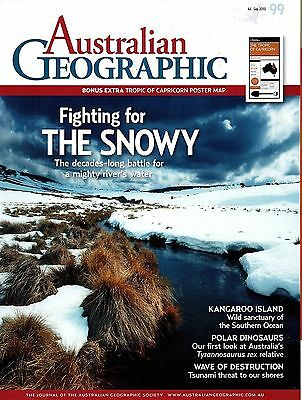Australian Geographic No 99 July - September 2010 -  Map not included