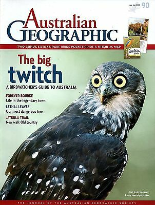 Australian Geographic No 90 April-June 2008 -  Map & guide not included