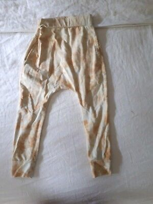 Children Of The Tribe Mustard Slouch Pants, Size 3-4