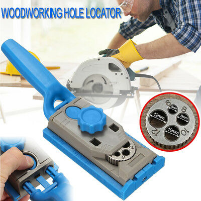 Pocket Hole Screw Jig Dowel Drill Set with scale Wood Joint Tool Carpenters