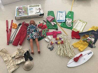 Vintage Kenner Dusty Doll Jenny Doll With Outfits