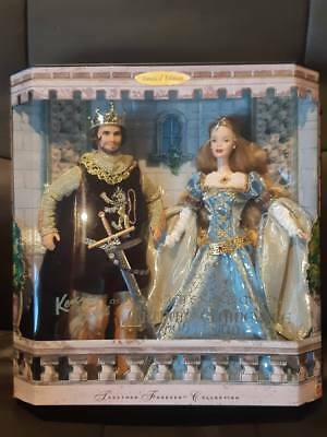Ken and Barbie as King Arthur and Guinevere 1999 Doll