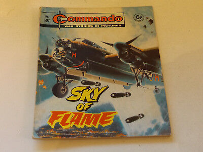 Commando War Comic Number 597 !,1971 Issue,good For Age,48 Years Old,very Rare