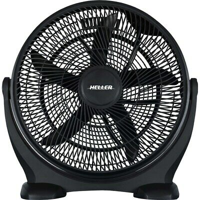 New Heller High Velocity Fan 50cm Black
