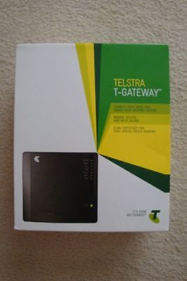 Telstra T Gateway Modem Router and WiFi - Brand New in Box