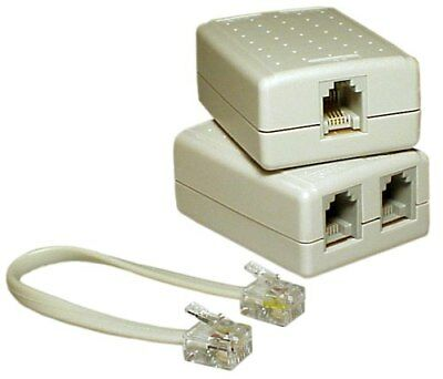 Access Communication ADSL FILTER/SPLITTER ACCK2320ASH 6P4C *Australian Brand