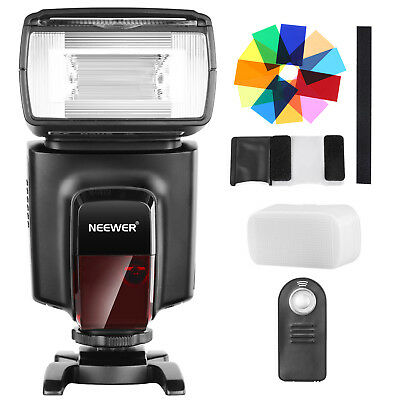 Neewer TT560 Flash Speedlite with Color Filters and Remote Control Kit for DSLRs