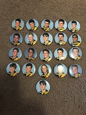 Richmond Tigers Player Face Badges X 21
