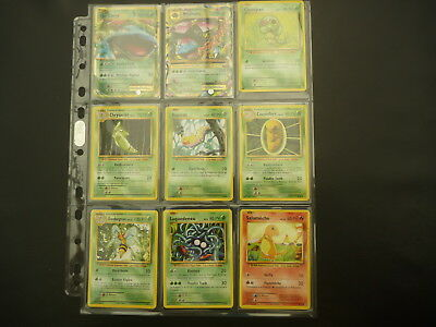 Collection complète pokemon XY12 EVOLUTIONS - 113 cartes neuf vf.