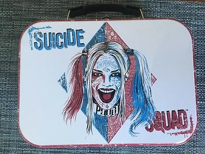 Suicide squad, Joker & Harley Quinn Metal Lunch Box