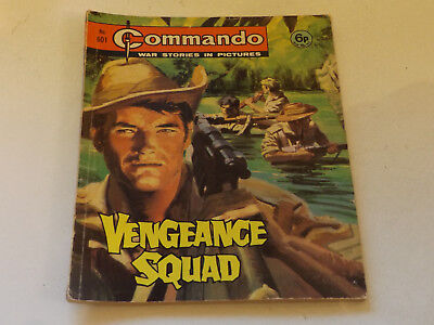 Commando War Comic Number 601 !,1971 Issue,good For Age,48 Years Old,very Rare