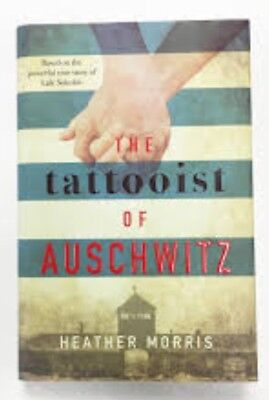 Book, The Tattooist Of Auschwitz. Heather Morris