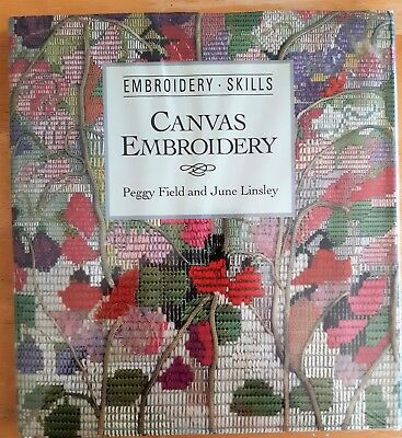 'Canvas Embroidery' – An Embroidery Skills Book By Peggy Field & June Linsley