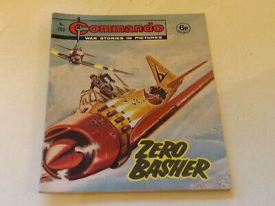 Commando War Comic Number 703 !,1972 Issue,v Good For Age,47 Years Old,very Rare