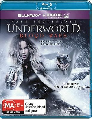 Underworld - Blood Wars (Blu-ray, 2017) *disc only*