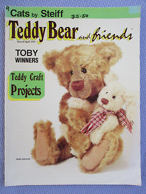 Teddy Bear And Friends Magazine – March April 1991 – Free Postage