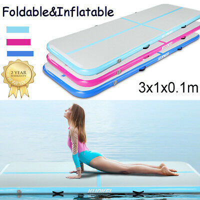 Gonflable Airtrack Tapis De Exercice Gym Yoga Gymnastique Tumbling Danse Sports