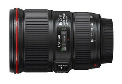 New- Canon EF 16-35mm f/4 L IS USM Wide Angle Zoom Lens - 12 Months Warranty