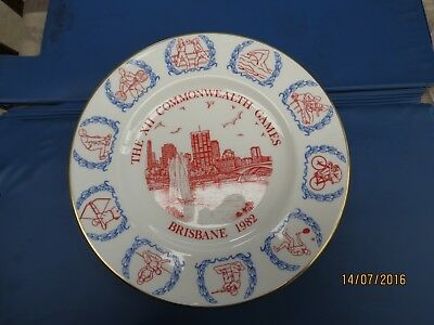 "Vintage: ""The XII Commonwealth Games - Brisbane 1982"" commemorative plate"