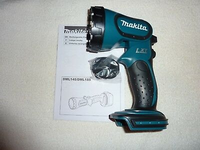 Makita 18 Volt Rechargeable Flash Light Model Dml185