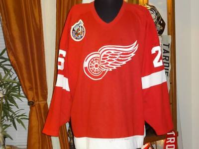 Detroit Red Wings Game Used Jersey