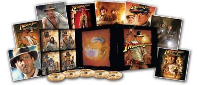 New - INDIANA JONES The Complete Adventures 4 Movie BLU RAY Collectors Edition
