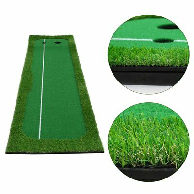 Golf Putting Green System Practice Green Golf Training Mat Aid Equipment UW