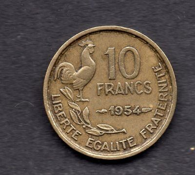 France 10 Francs 1954 Type Georges Guiraud