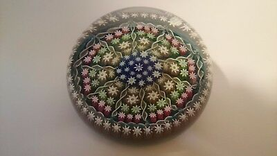 Perthshire PP1 Millefiori Art Glass Paperweights