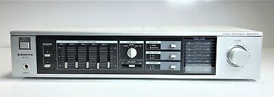Sanyo Ja 350 Stereo Integrated Amplifier / Amp With Equaliser | Working 100%