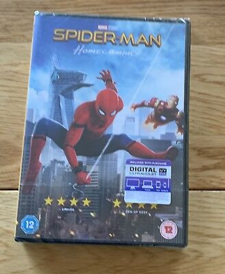 Spider-Man Homecoming (DVD) Brand New Sealed