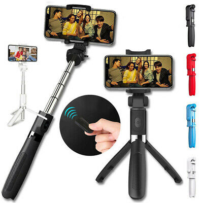 Wireless Remote Control Extendable Selfie Stick Monopod Tripod for Cell Phone