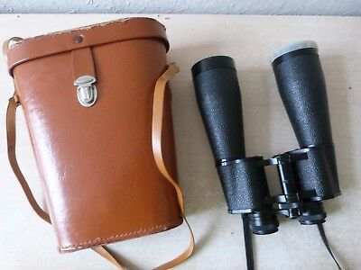 Binocular TOKYO 25 X 50 with Original Leather Case Spares or Repairs