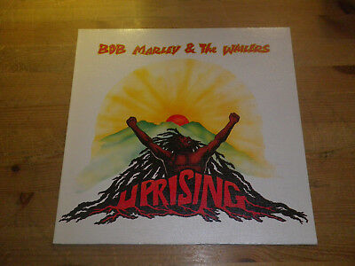 """BOB MARLEY & THE WAILERS: Uprising, TEXTURED COVER, ORG GER, 12""""/ LP, MINT!!!"""