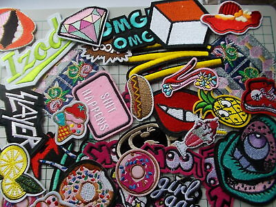 Various Novelty Shaped  Iron/Sew On Applique / Patch choose design