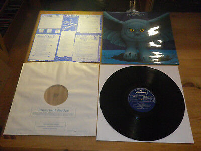 """RUSH: Fly By Night, + INSERT, 9100 013, ORG UK, 1975, 12""""/ LP, TOP HEAVY IN MINT"""