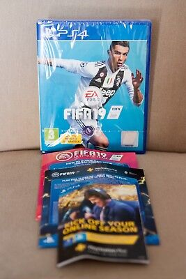 FIFA19 PS4 Play Station 4 Console Video Game New Sealed plus extras!!