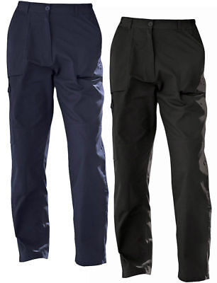 Regatta TRJ334 Womens Action II Trousers Black  or Navy