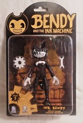 """FREAKY! Bendy and the Ink Machine """"Ink Bendy"""" Action Figure"""
