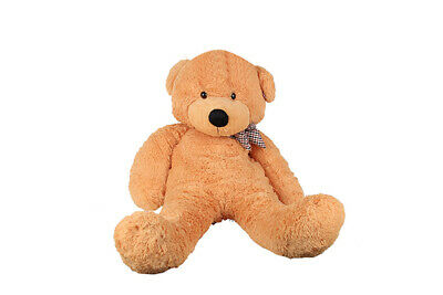 1.2M 47'' Brown Teddy Bear Giant Huge Cuddly Stuffed Plush Teddy Bear Toy Doll