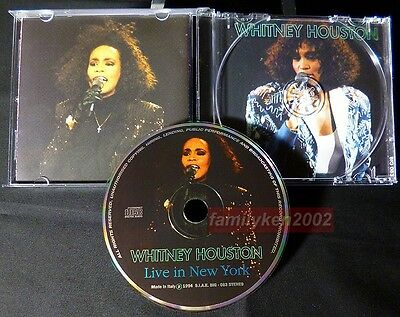 LIVE In Concert CD w/Picture Disc MINT! Whitney Houston Live In New York 1992