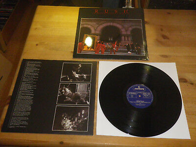 """RUSH: Moving Pictures, 6337 160, ORG GER, 1981, 12""""/ LP, HEAVY BURNER IN MINT!!"""