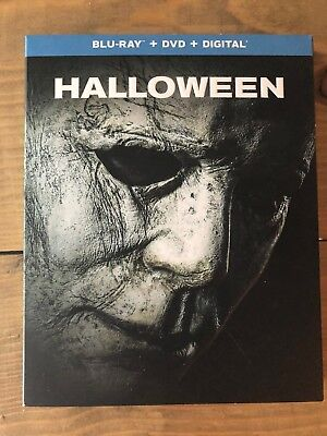 Halloween 2018 Blu-Ray + DVD + Digital Combo Pack Brand New Sealed