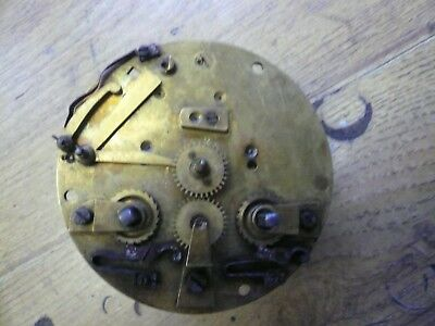 Early French Japy Clock Movement Spares/repair