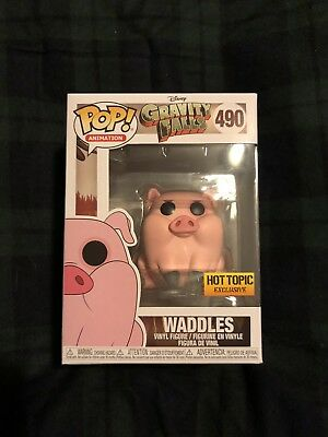 Hot Topic Exclusive Gravity Falls Waddles Funko Pop! Brand New IN HAND Mint Box!