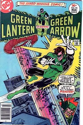 Green Lantern #93 (Mar 1977 Dc) Mike Grell Terry Austin Art-No Reserve