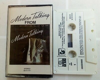 Modern Talking–From The First Album  RARE CASSETTE SPAIN EDITION 1987